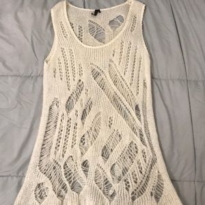 Topshop knitted tank